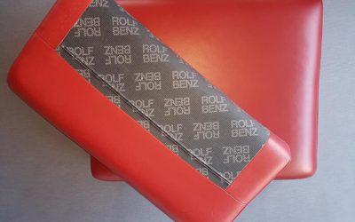 Neueinfärbung Sitzkissen Rolf Benz